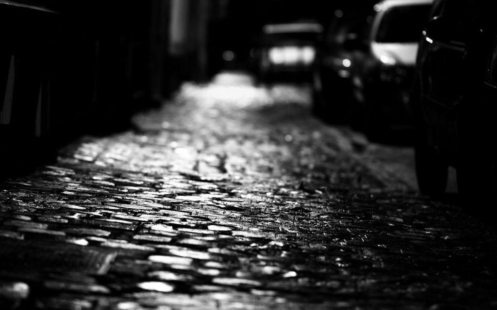 J'ai dans la tête des visions de rues la nuit…