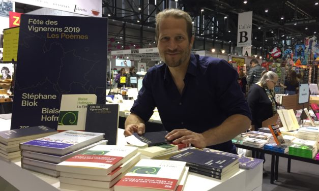 Blaise Hofmann, la Fête des Vignerons 2019